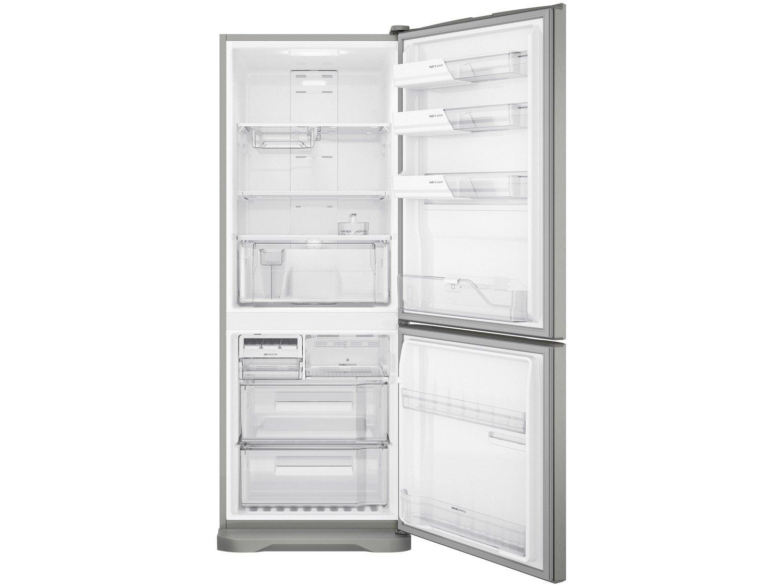 Refrigerador Electrolux Bottom DB53X Frost Free com Painel Blue Touch 454L - Inox - 220V - 12