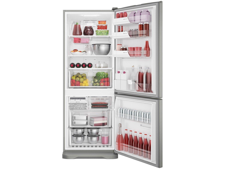 Refrigerador Electrolux Bottom DB53X Frost Free com Painel Blue Touch 454L - Inox - 220V - 16