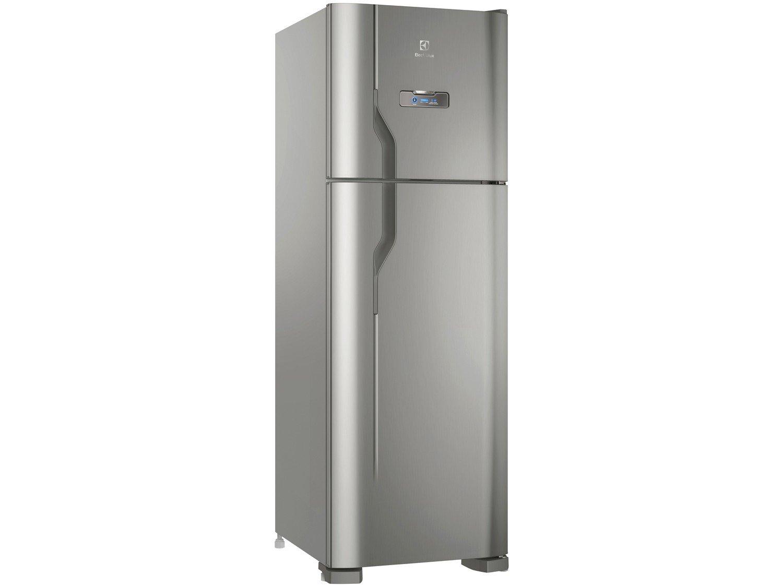 Refrigerador Electrolux DFX41 Frost Free com Turbo Congelamento 371L - Inox - 127V