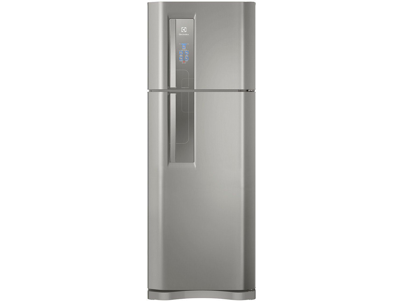 Foto 2 - Geladeira/Refrigerador Electrolux Frost Free Inox - Duplex 459L Painel Blue Touch DF54X