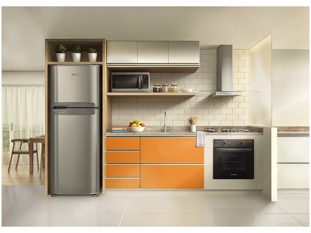 Geladeira/Refrigerador Continental - Degelo Automático Duplex Prata 472L TC56S - 220 V - 2