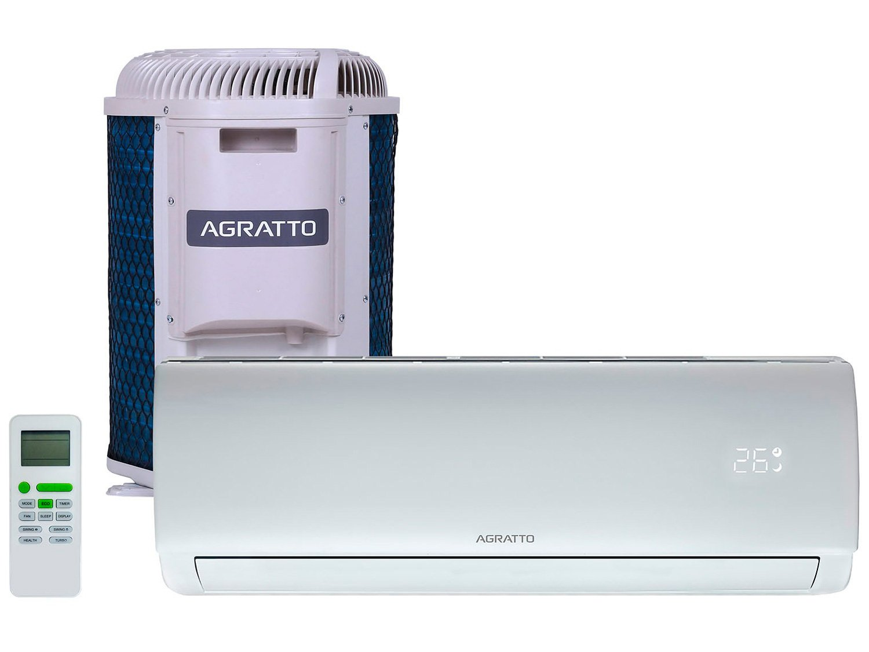 Ar-condicionado Split Agratto 12.000 BTUs Frio - ECO TOP ECST12FR4-02 8811 - 220 V