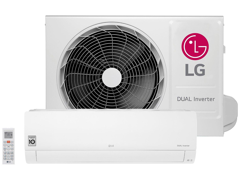 Foto 1 - Ar-condicionado Split LG 12.000 BTUs Frio - Dual Inverter S4-Q12JA3WF