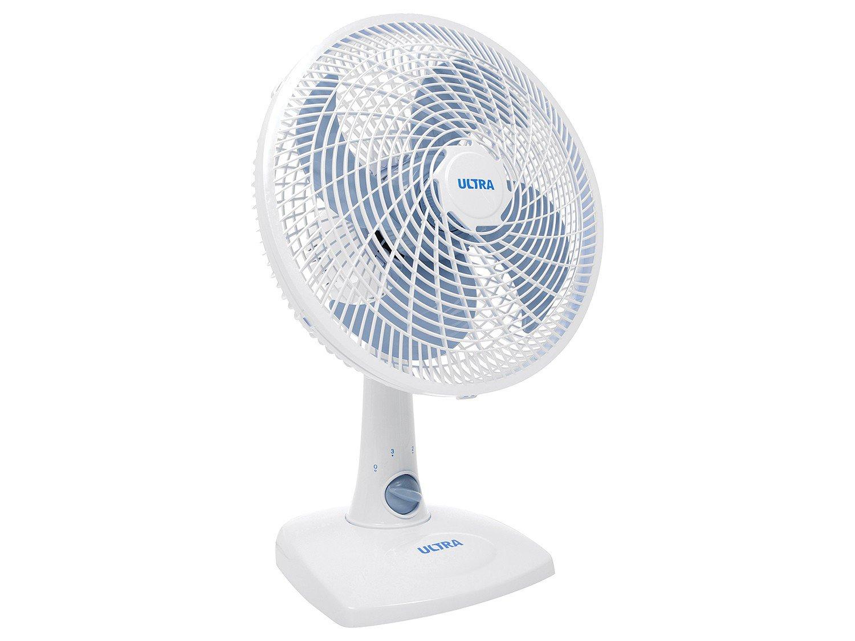 Ventilador de Mesa Ultra V16 Branco/Azul - 30cm - 110v - 4