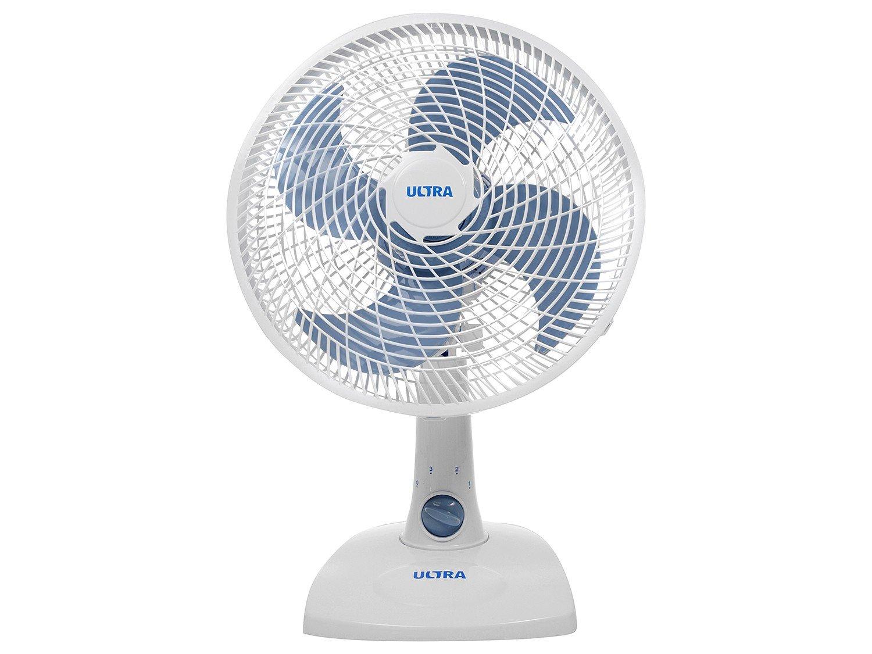 Ventilador de Mesa Ultra V16 Branco/Azul - 30cm - 110v - 6