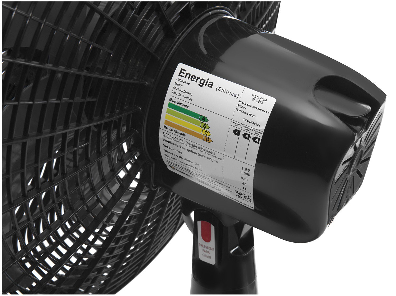 Ventilador Britânia Ventus 40 SIX com 6 Pás Preto - 40cm - 110V - 5