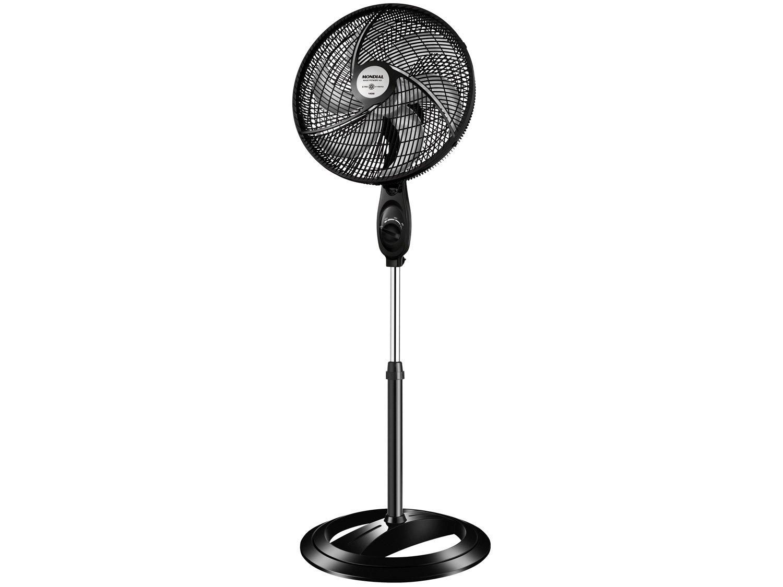 Ventilador de Coluna Mondial Black Premium com 3 Velocidades - Preto - 110v
