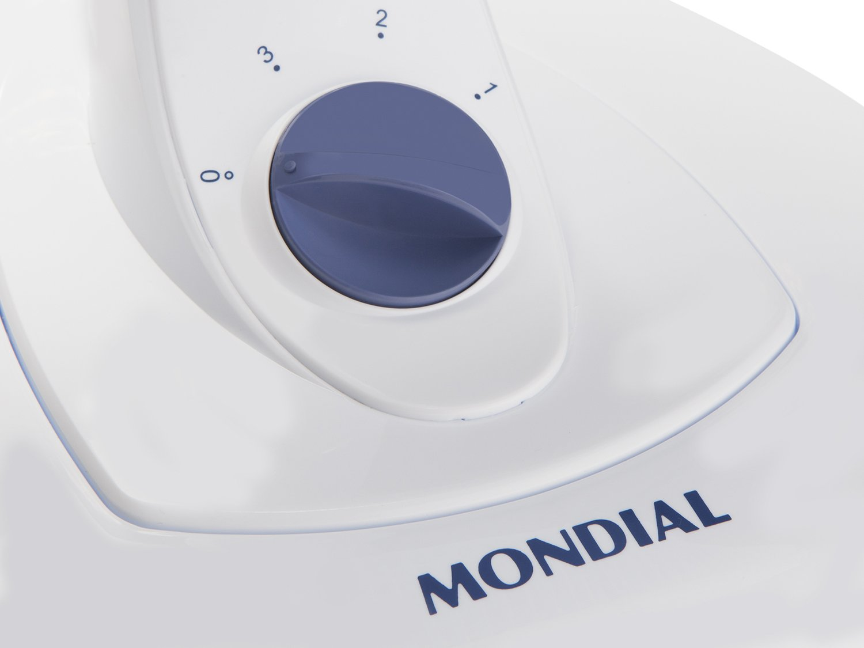 Ventilador de Mesa Mondial Maxi Power V-45-4P-NP Branco/Azul - 40cm - 110v - 5