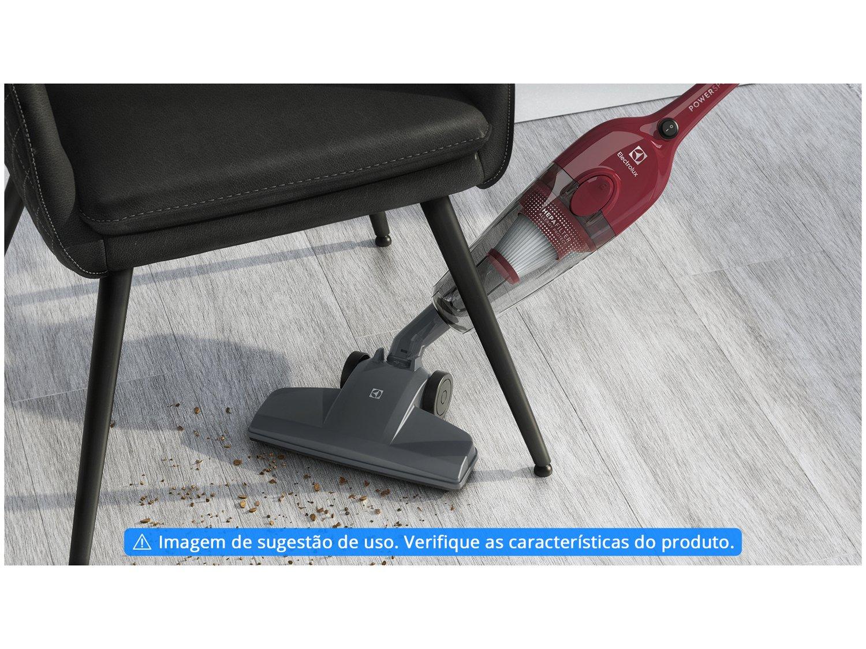 Aspirador de Pó Portátil e Vertical Electrolux - 1000W Vermelho - 220 V - 1