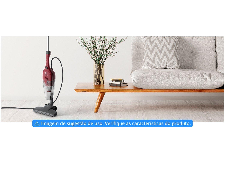 Aspirador de Pó Portátil e Vertical Electrolux - 1000W Vermelho - 220 V - 3
