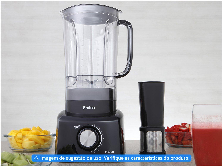 Liquidificador Philco PH900 12 Velocidades 1200W - Preto - 110V - 2