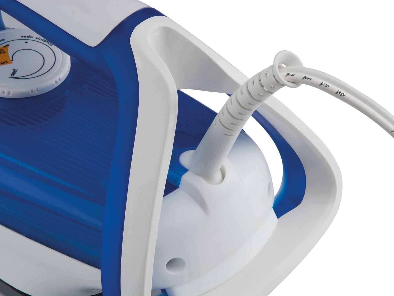 Foto 6 - Ferro de Passar a Vapor e a Seco Arno - Ultragliss 41 Branco e Azul