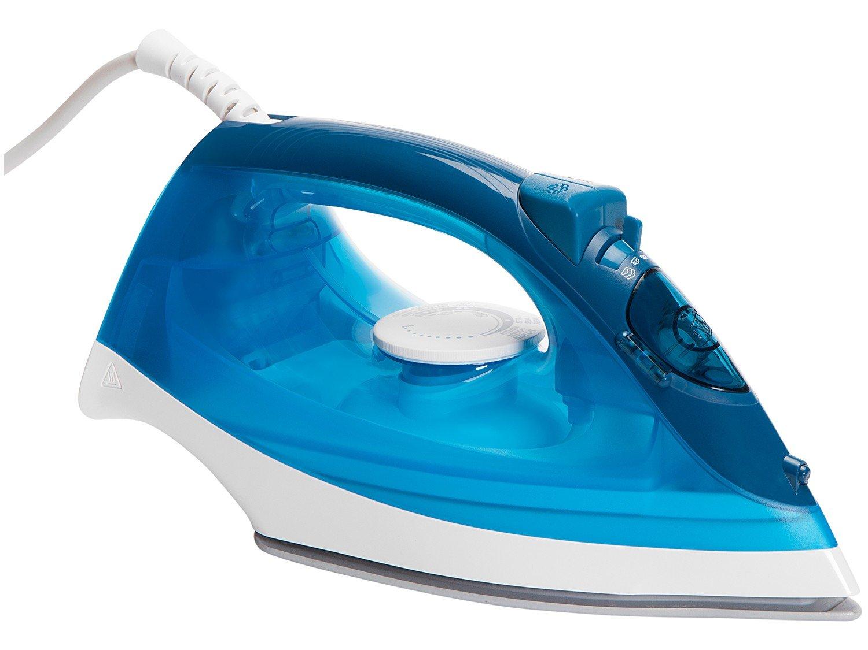 Ferro de Passar Roupa a Vapor Philips Walita - Comfort Cerâmica Azul - 110 V