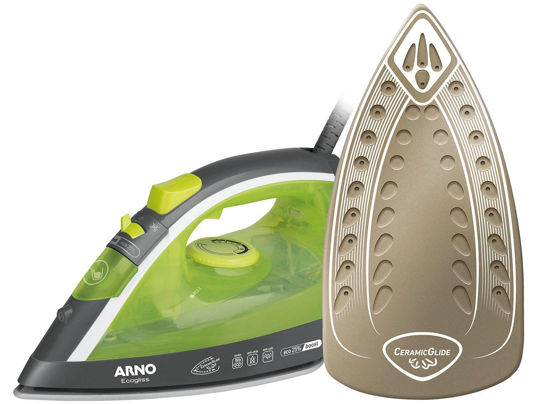 Ferro de Passar a Vapor Arno Ecogliss FEC1 com Spray - Verde - 110V