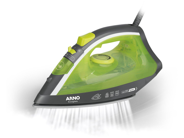 Ferro de Passar a Vapor Arno Ecogliss FEC1 com Spray - Verde - 110V - 8