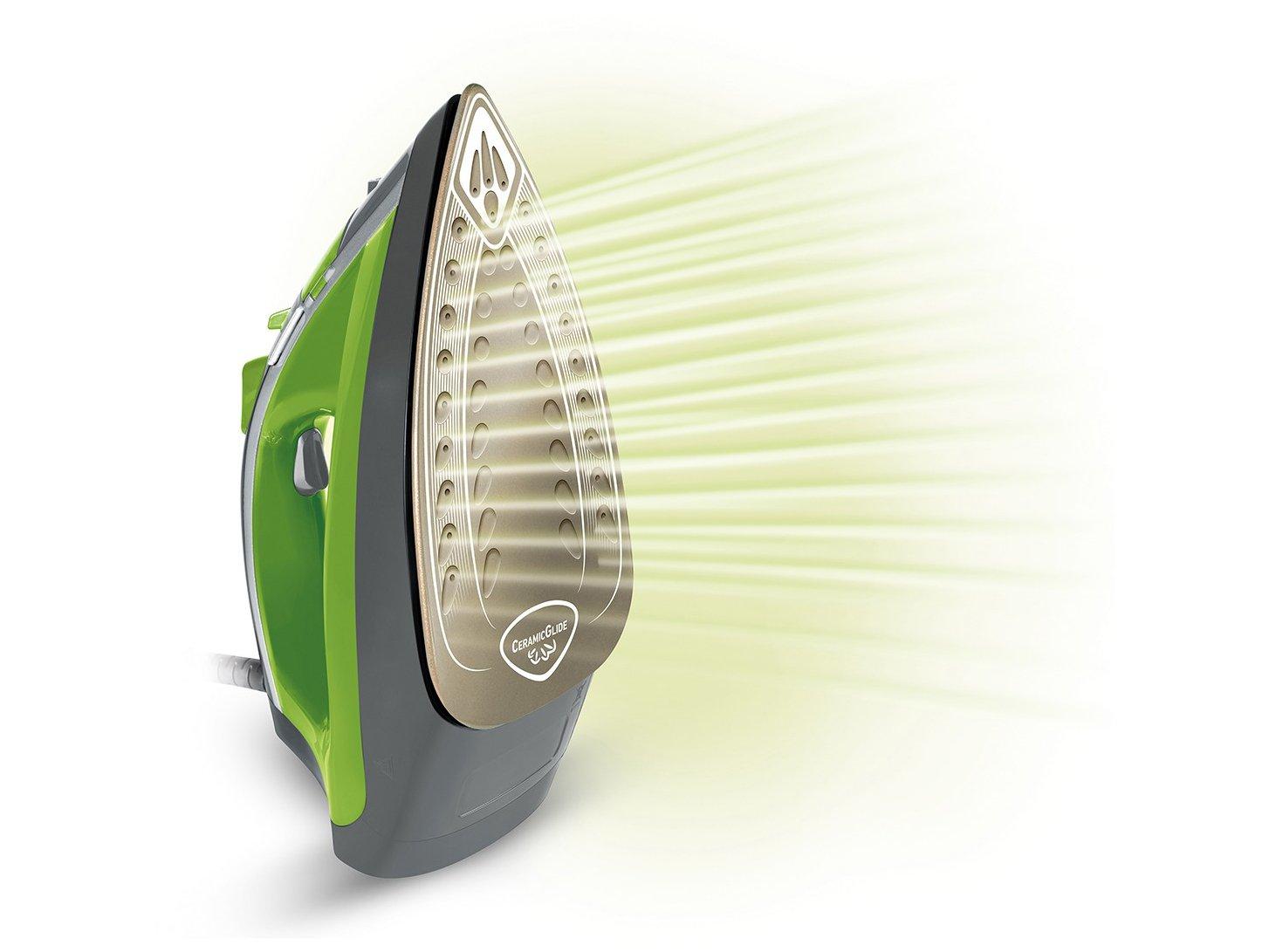 Ferro de Passar a Vapor Arno Ecogliss FEC1 com Spray - Verde - 110V - 16