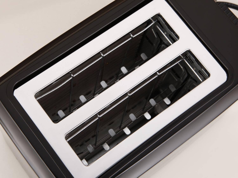 Torradeira Toast Due Black Mondial T-05 com 6 Opções de Tostagem - Preta - 110V - 5