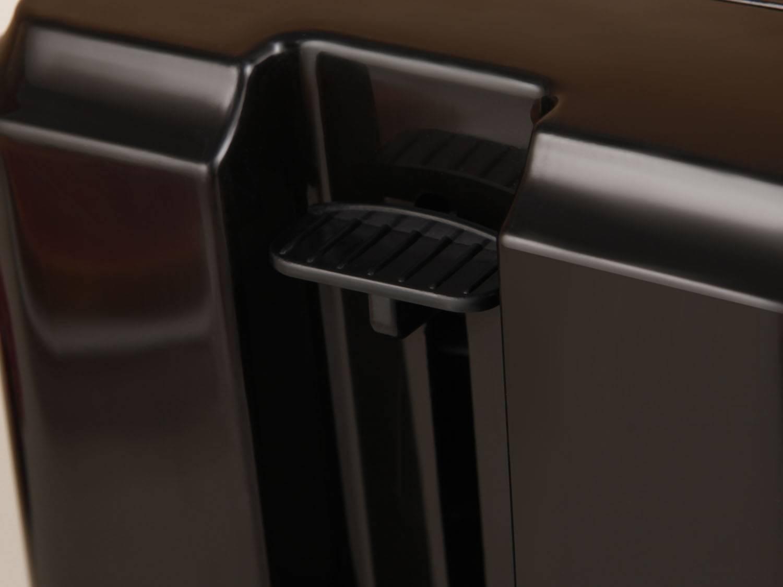 Torradeira Toast Due Black Mondial T-05 com 6 Opções de Tostagem - Preta - 110V - 6