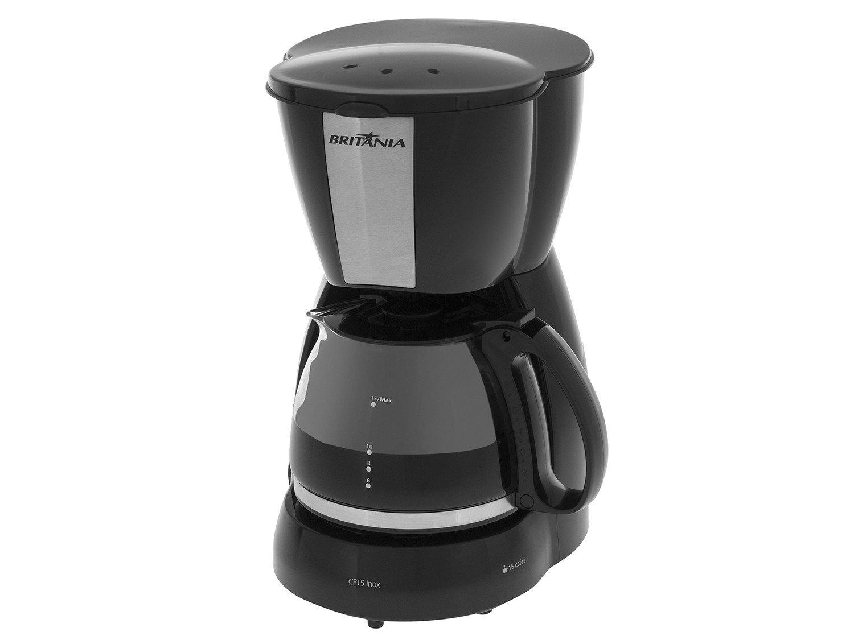 Cafeteira Elétrica Britânia CP15 - Preto - 110V
