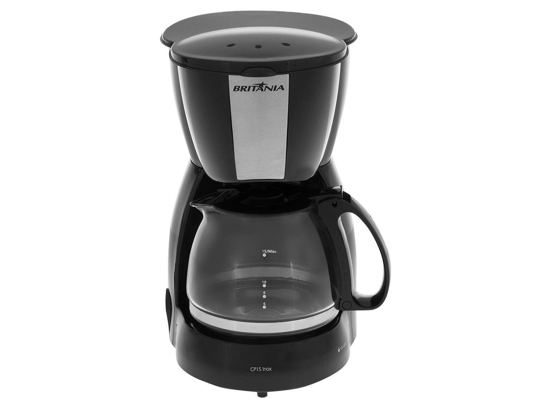 Cafeteira Elétrica Britânia CP15 - Preto - 110V - 12
