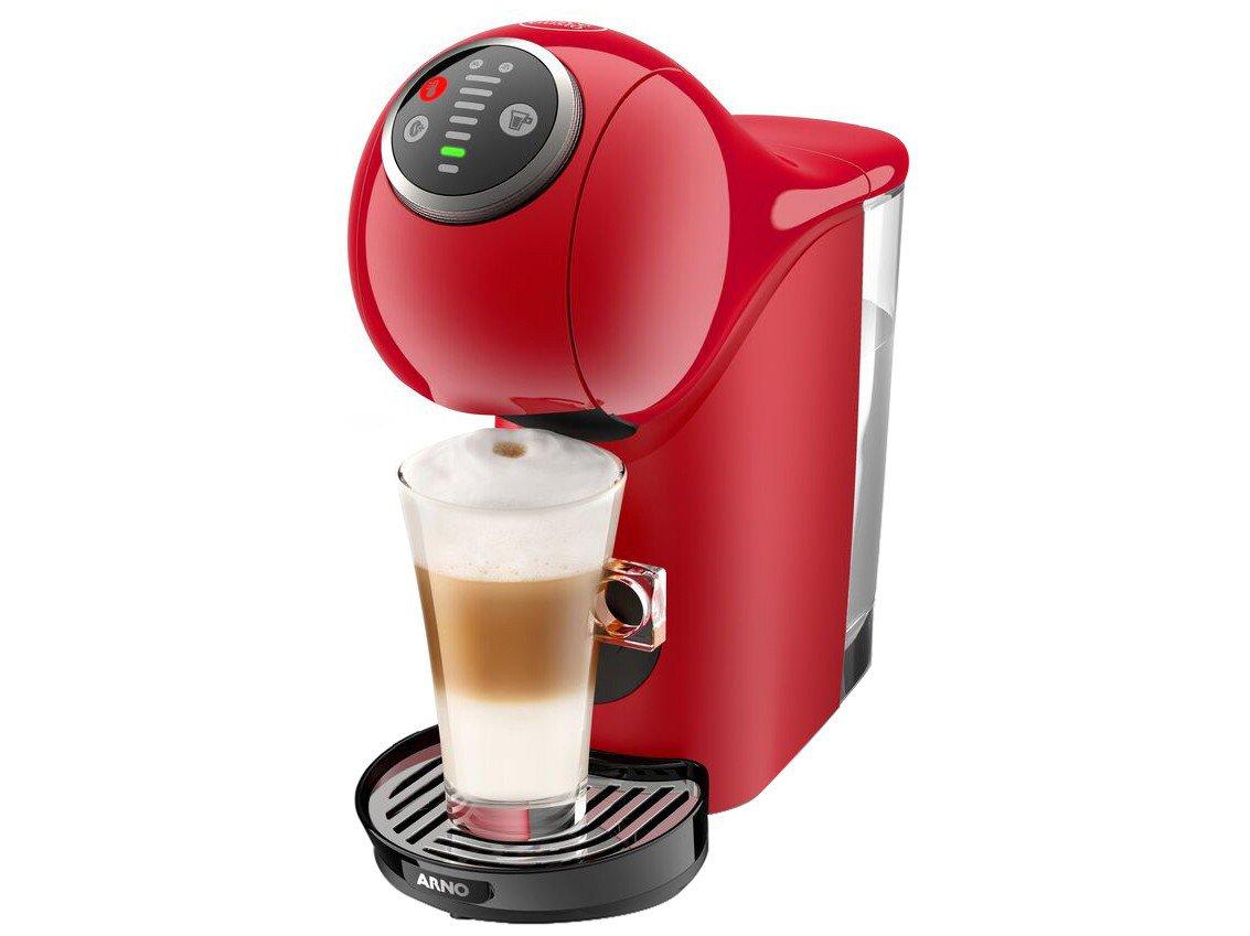 Cafeteira Expresso Arno Nescafé Dolce Gusto - Genio S Basic de Plus 15 Bar Vermelho - 220 V