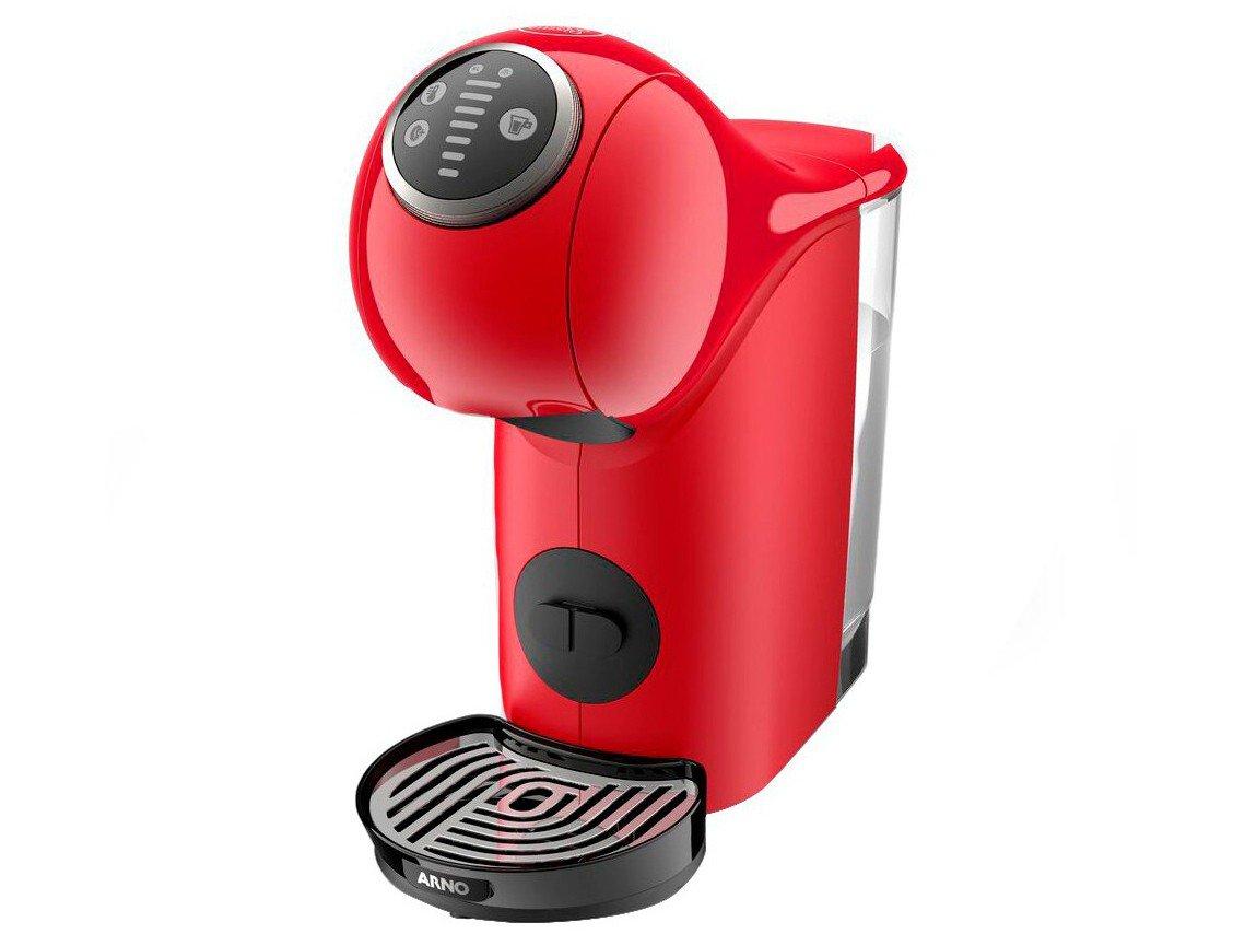 Cafeteira Expresso Arno Nescafé Dolce Gusto - Genio S Basic de Plus 15 Bar Vermelho - 220 V - 2