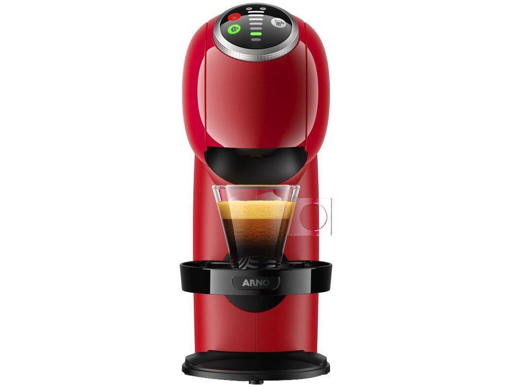 Cafeteira Expresso Arno Nescafé Dolce Gusto - Genio S Basic de Plus 15 Bar Vermelho - 220 V - 4