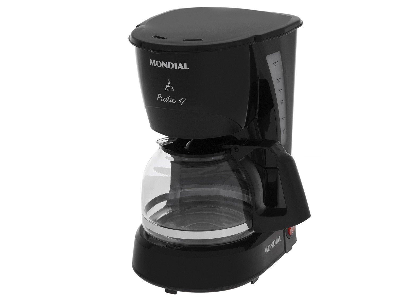 Cafeteira Elétrica Mondial Pratic NC-25 17 Xícaras – Preta - 110V - 4
