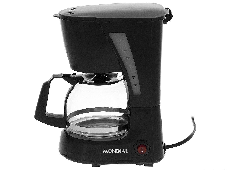 Cafeteira Elétrica Mondial Pratic NC-25 17 Xícaras – Preta - 110V - 13
