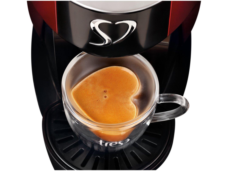 Cafeteira Espresso TRES Touch Vermelha 3 Corações -  - 110 V - 2