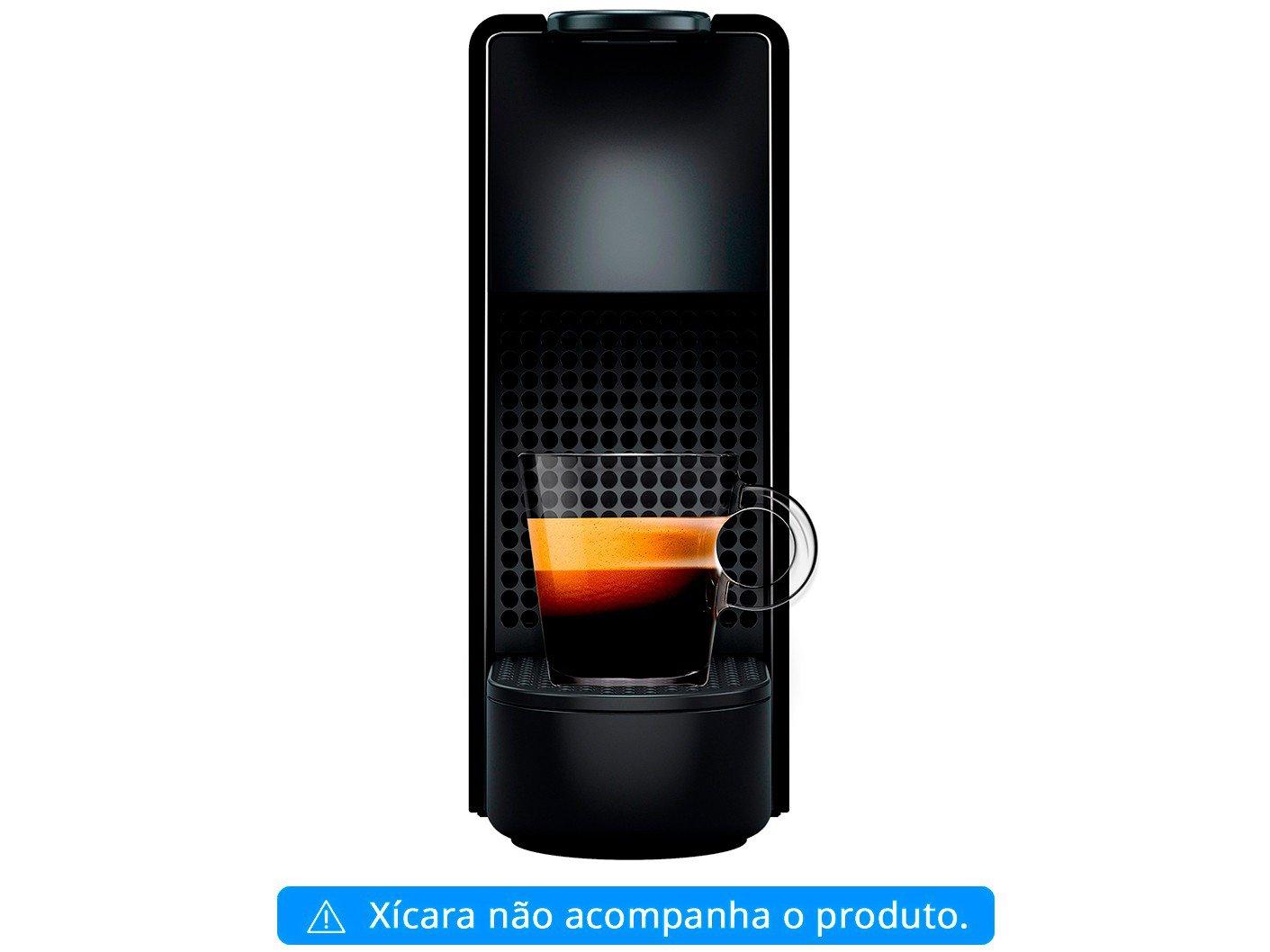 Máquina de Café Nespresso Essenza Mini C30 com Kit Boas Vindas - Preta - 110V - 8