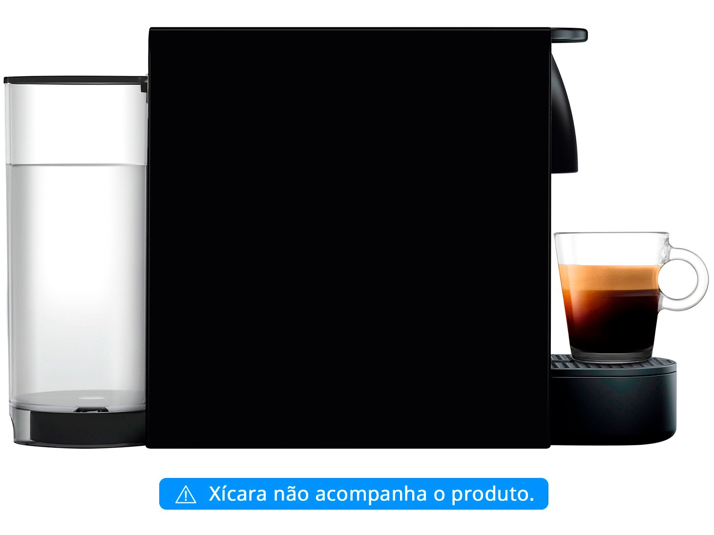 Máquina de Café Nespresso Essenza Mini C30 com Kit Boas Vindas - Preta - 110V - 16