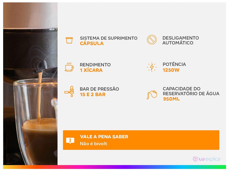 Cafeteira Espresso TRES 3 Corações Lov - 15 Bar Vermelho - 110 V - 1