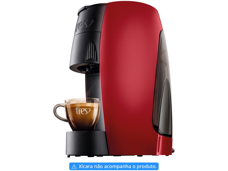 Cafeteira Espresso TRES 3 Corações Lov - 15 Bar Vermelho - 110 V - 4