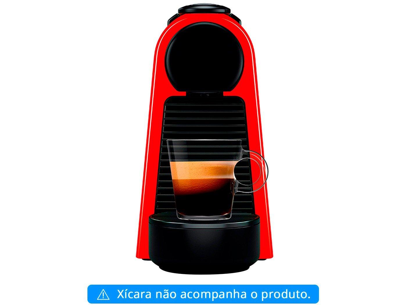 Máquina de Café Nespresso Essenza Mini D30 com Kit Boas Vindas - Vermelha - 110V - 2