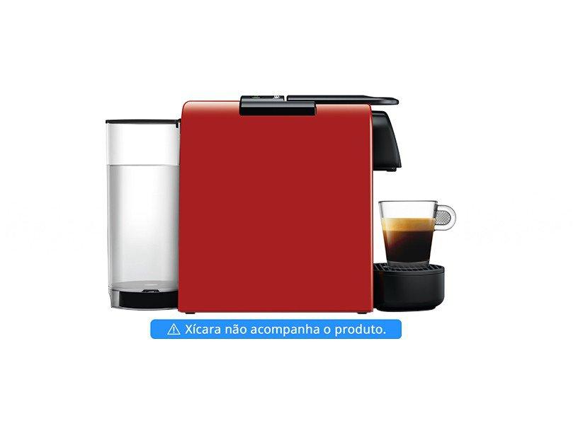 Máquina de Café Nespresso Essenza Mini D30 com Kit Boas Vindas - Vermelha - 110V - 5