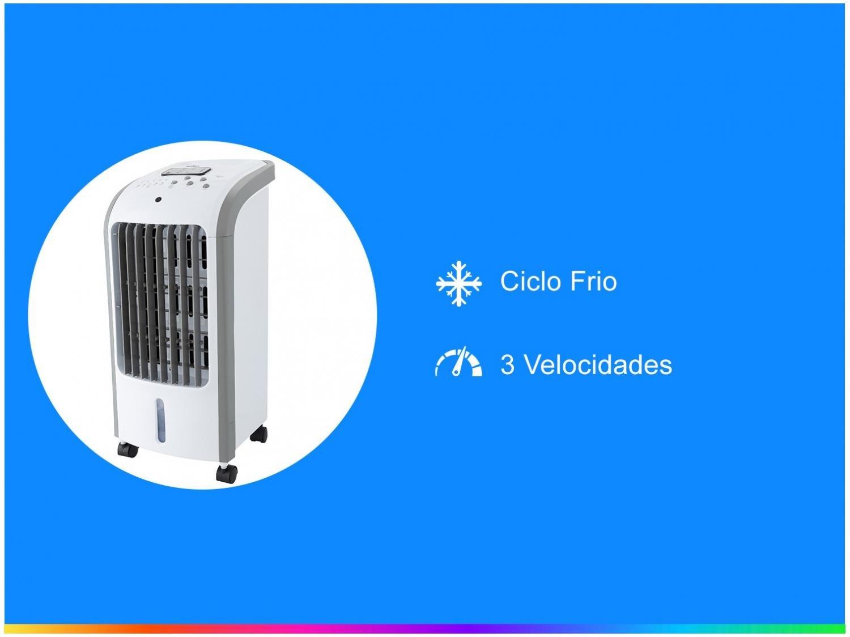 Climatizador Britânia BCL01F Resfria, Umidifica e Ventila 3 Velocidades - 110V - 3