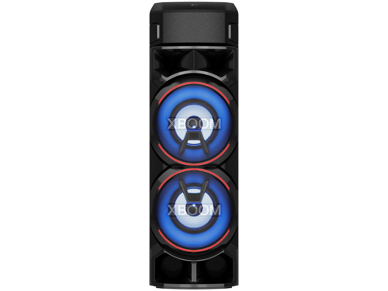 Caixa de Som Acústica LG XBOOM RN9 com Multi Bluetooth, Karaokê, Entrada de Microfone e Guitarra - 5