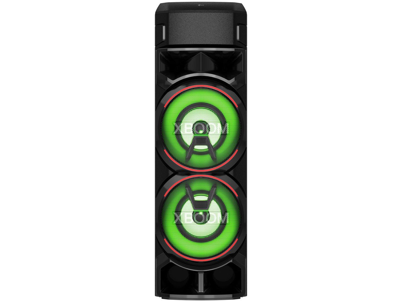 Caixa de Som Acústica LG XBOOM RN9 com Multi Bluetooth, Karaokê, Entrada de Microfone e Guitarra - 7