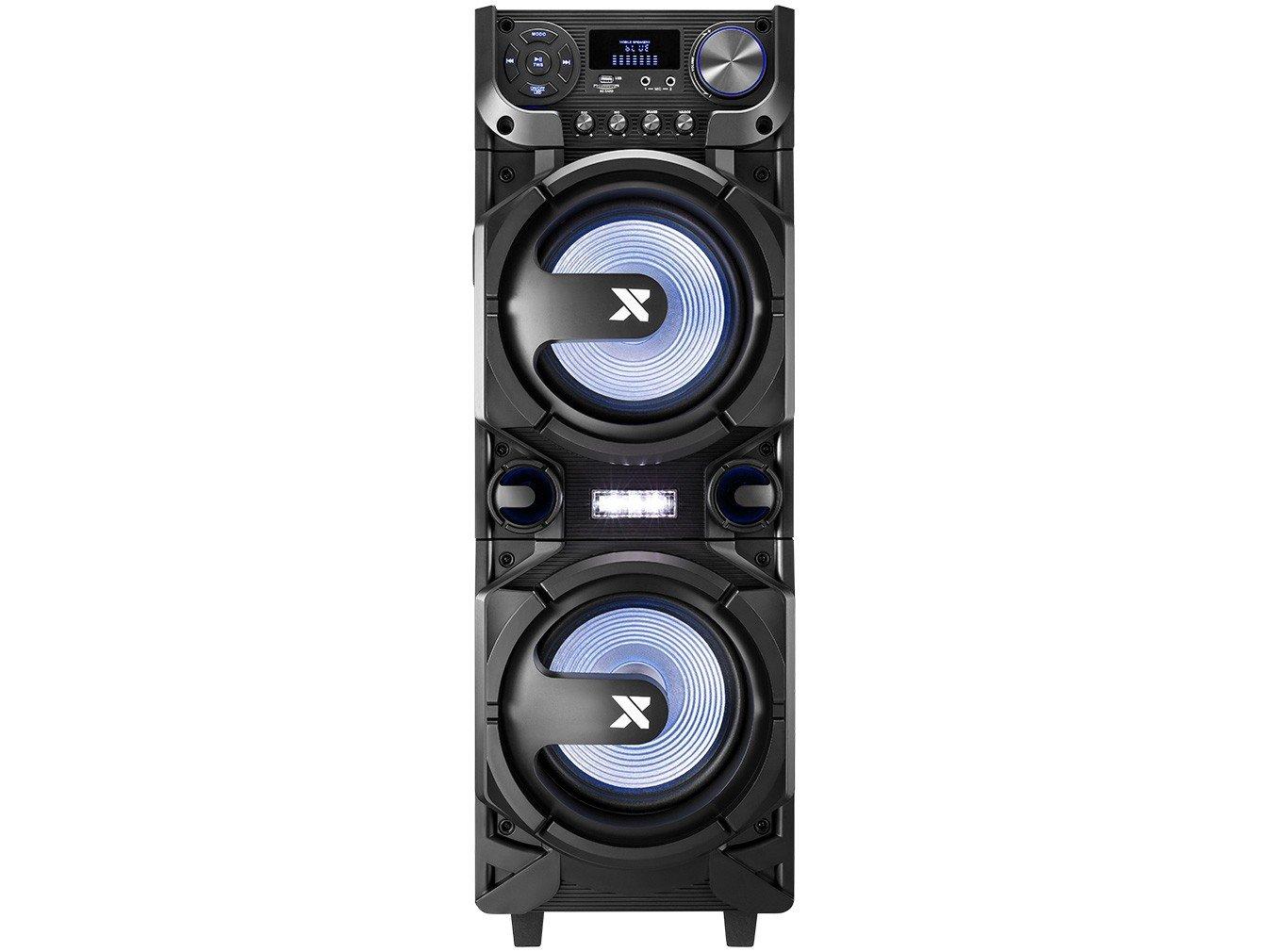 Caixa de Som Amplificada Multiuso Lenoxx CA-5000 com Bluetooth, Rádio FM, Entrada USB, SD e Card - 1000W - 1