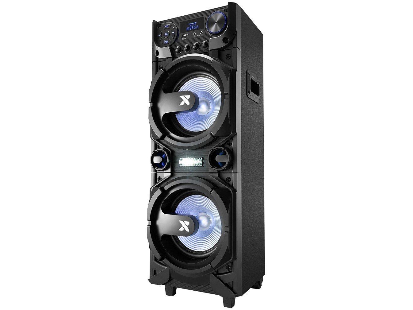 Caixa de Som Amplificada Multiuso Lenoxx CA-5000 com Bluetooth, Rádio FM, Entrada USB, SD e Card - 1000W - 7