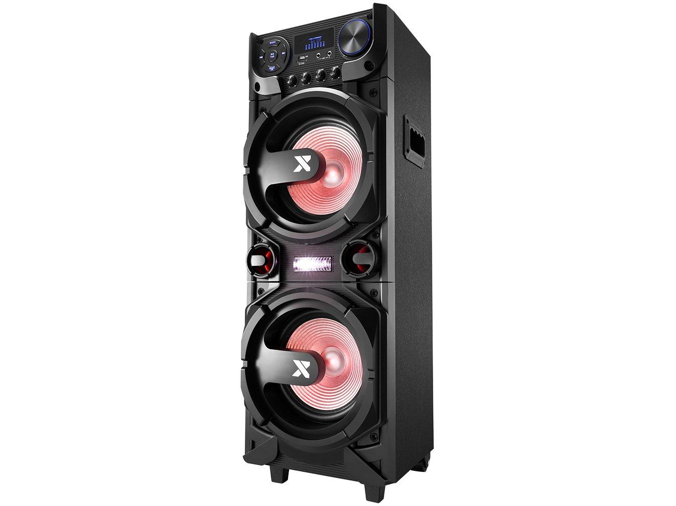 Caixa de Som Amplificada Multiuso Lenoxx CA-5000 com Bluetooth, Rádio FM, Entrada USB, SD e Card - 1000W - 8