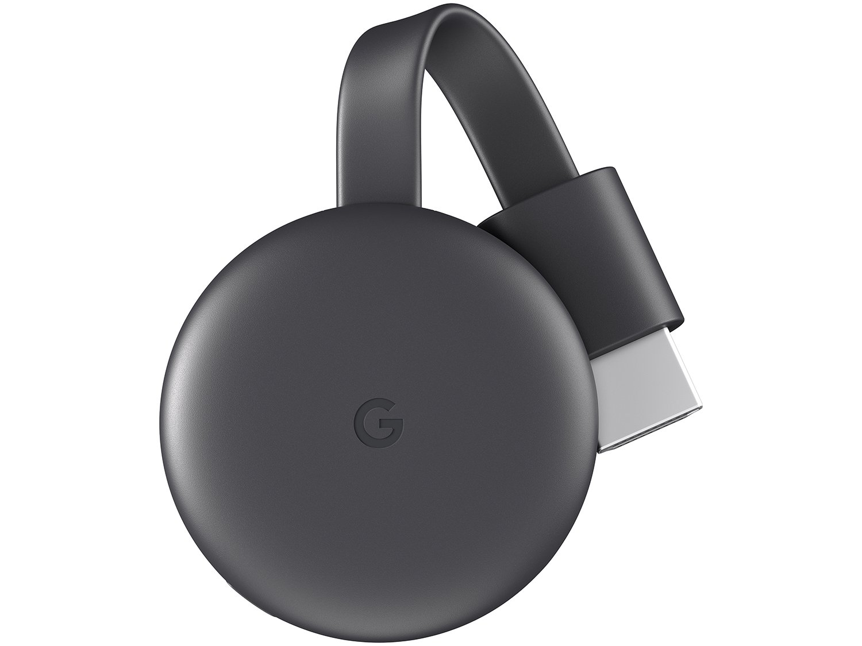 Google Chromecast 3 Streaming - Preto - 1