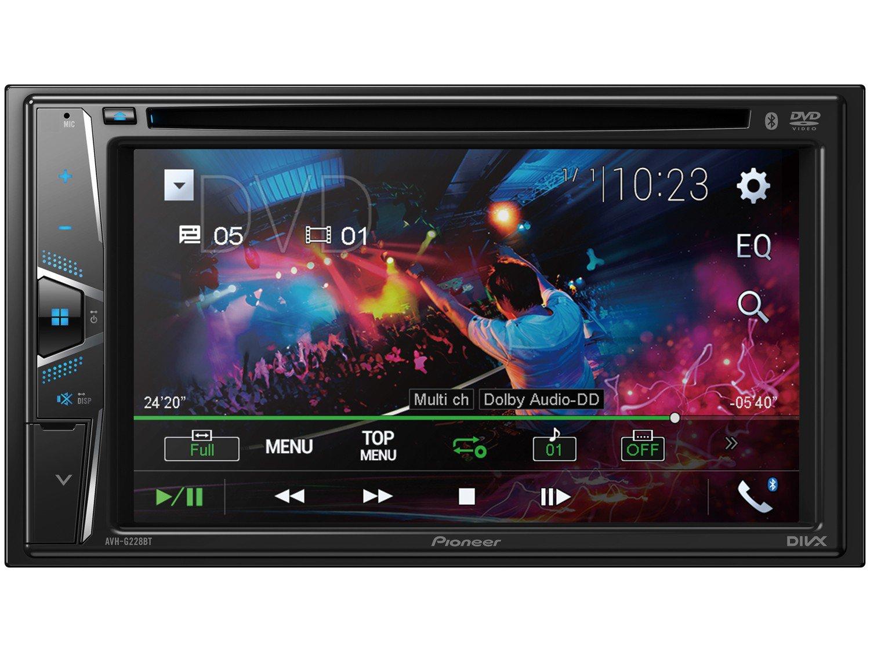"DVD Automotivo Pioneer AVH-G228BT Bluetooth - Touch 6,2"" 23W RMS USB Auxiliar - 2"