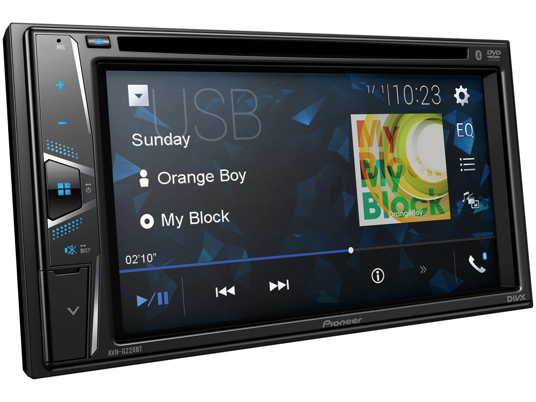 "DVD Automotivo Pioneer AVH-G228BT Bluetooth - Touch 6,2"" 23W RMS USB Auxiliar - 3"