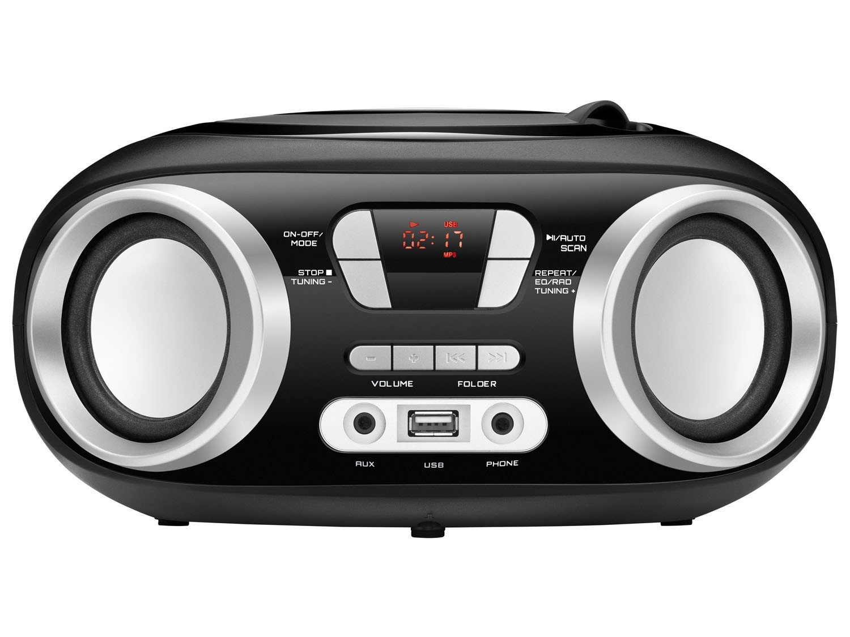 Rádio Portátil Mondial Boom Box NBX-13 Entrada USB Auxiliar Rádio FM – 6W - 3