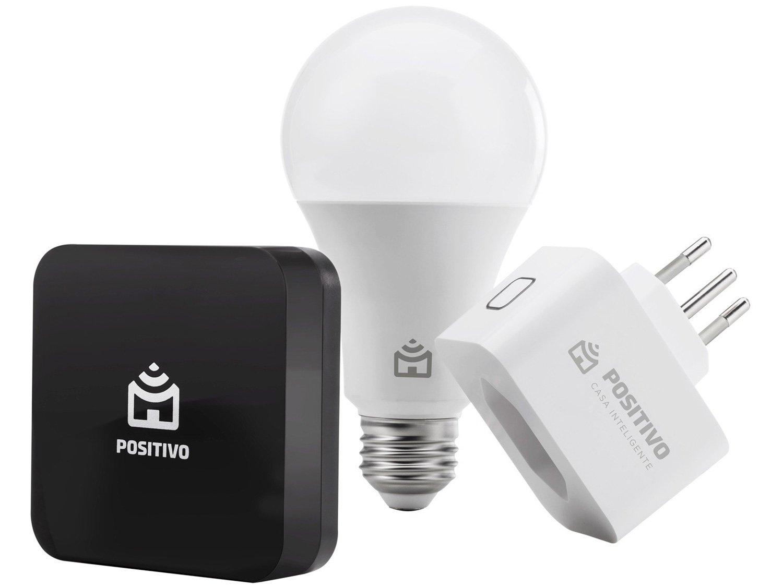 Kit Casa Segura Positivo Smarthome 11152227 - Controle por Smartphone - Bivolt