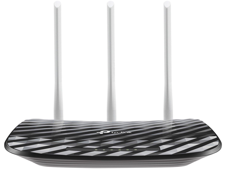 Foto 1 - Roteador Wireless Tp-link Archer C20 750mbps - 3 Antenas 4 Portas Dual Band