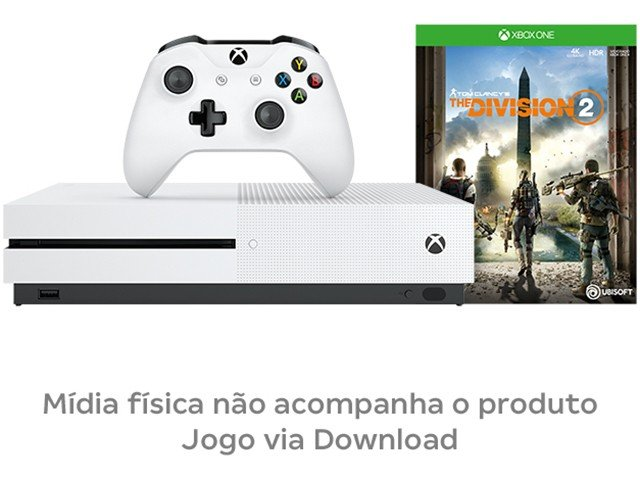 Console Xbox One S 1TB + Jogo The Division 2 (Download via Xbox Live) - 11