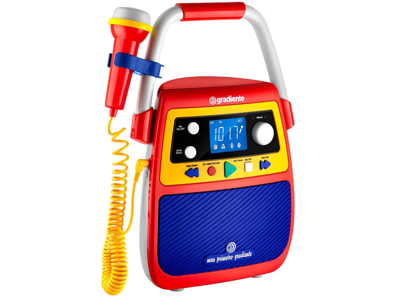 Rádio Gravador Portátil Meu Primeiro Gradiente GMP104 Bluetooth Bivolt - 1
